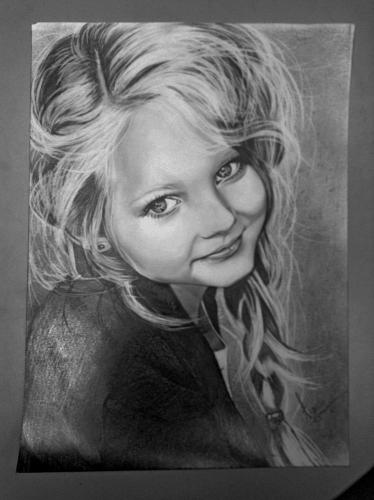 Портрет (карандашом)